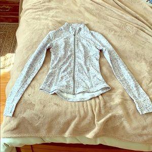 Lululemon Fitted Peplum Jacket Size 2